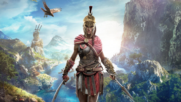 Kassandra in Assassin s Creed