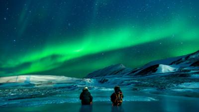 aurora borealis 400x225 mm 90