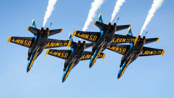 Blue Angels at San Francisco airshow