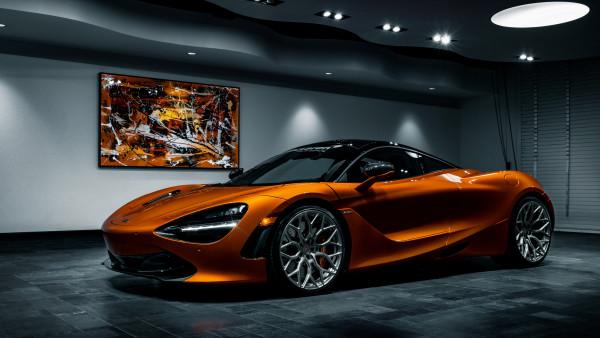 Mclaren 720s Hd Wallpaper Super Cars 4k Uhd Desktop Background Orange Picture Photo