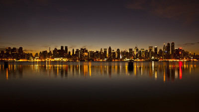 new york city skyline photography 400x225 mm 90