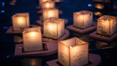 The Lantern Floating Ceremony