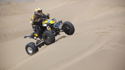 Racing with ATV