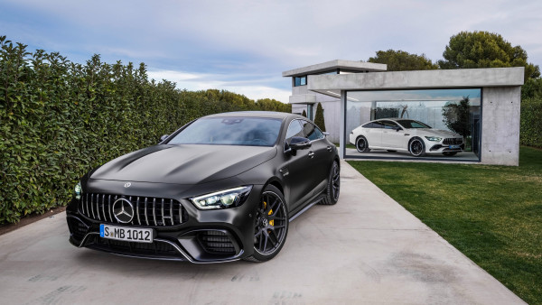 2048x2048 Mercedes Car Steering Full Hd Ipad Air Hd 4k: Mercedes AMG GT 4-Door Coupe 2019