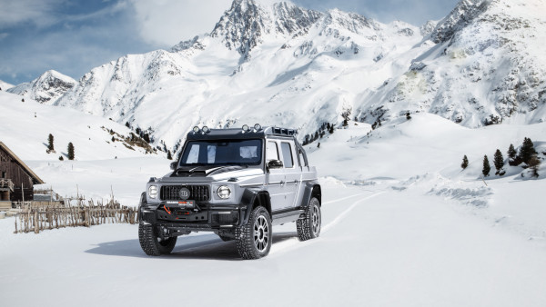 Mercedes Brabus 800 Adventure XLP