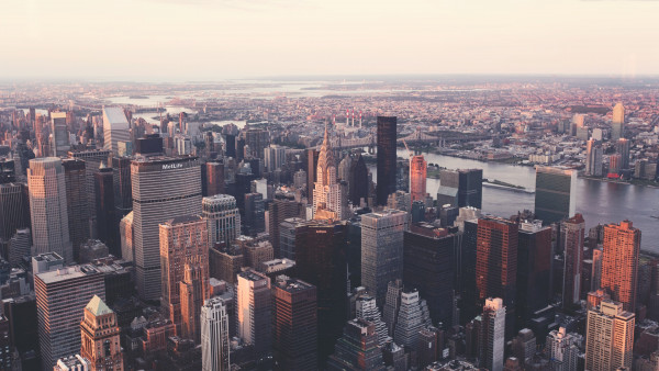 New York city view