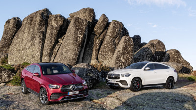 Mercedes Benz GLE AMG Coupe