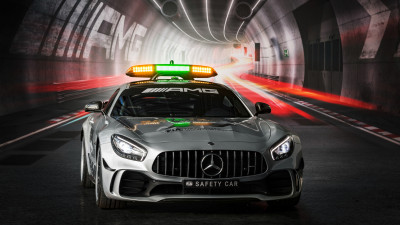 Mercedes AMG GT R F1 safety car