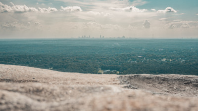 Top of Stone Mountain, Georgia