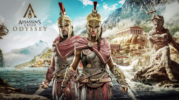 Assassin S Creed Odyssey Poster Hd Wallpapers 1920x1080 For