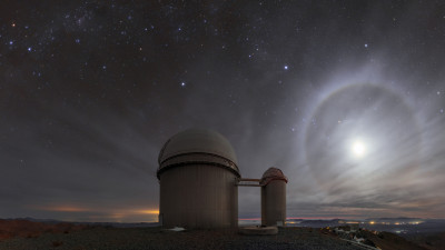 La Silla Observatory in Chile