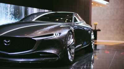 Mazda car featured at Geneva International Motor Show