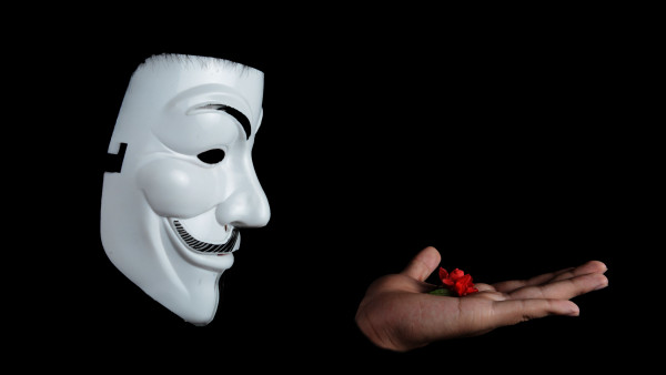 Anonymous Mask Hd Wallpaper Free Picture 4k Desktop Background