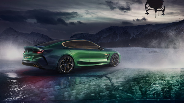 BMW Concept M8 Gran Coupe 2018 rear side