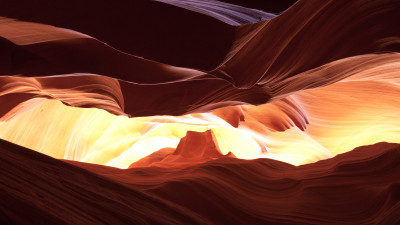 Exploring the Antelope Canyon