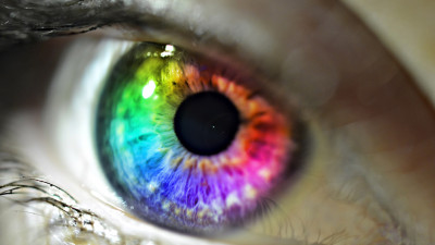Colors in my eye