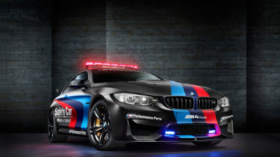 BMW M4 safety car in MotoGP