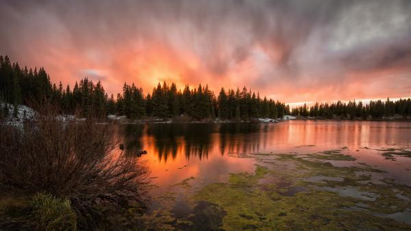 2048x2048 Serene Sunset Ipad Air Hd 4k Wallpapers Images: 4K Desktop Photography, 3840x2160