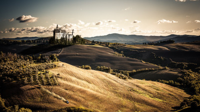 Toscana, Italy. Wonderful landscape