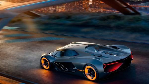 Lamborghini Terzo Millennio Electric Car Hd Wallpaper 4k Desktop