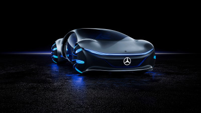 Mercedes Benz VISION AVTR front side