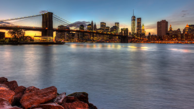Brooklyn Bridge, NY, USA
