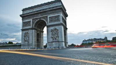 Arc de Triomphe from Paris