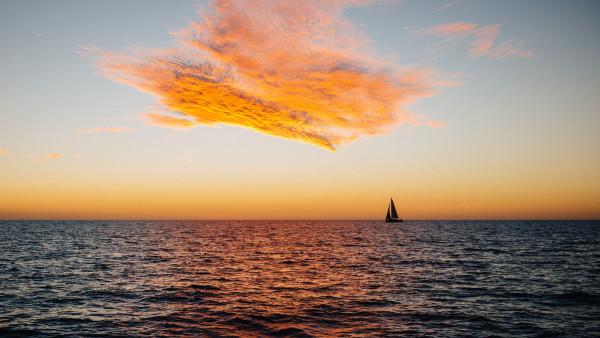 2048x2048 Serene Sunset Ipad Air Hd 4k Wallpapers Images: HD Wallpaper, 4k, 3840x2160
