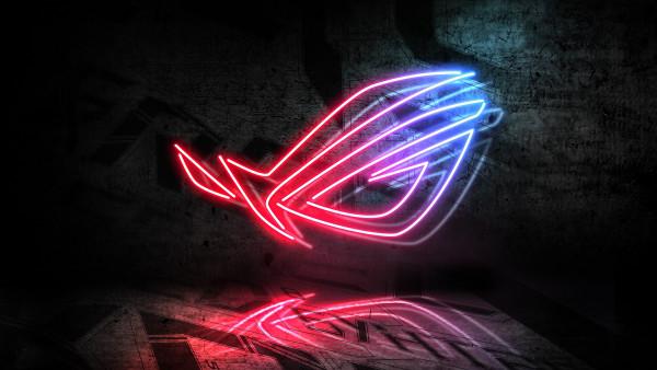 Asus Rog Neon Logo Hd Wallpapers For Desktop Backgrounds 4k Uhd 1920x1080 Image 3840x2160