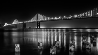 Bay bridge from San Francisco