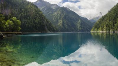 Landscape from Jiuzhaigou valley