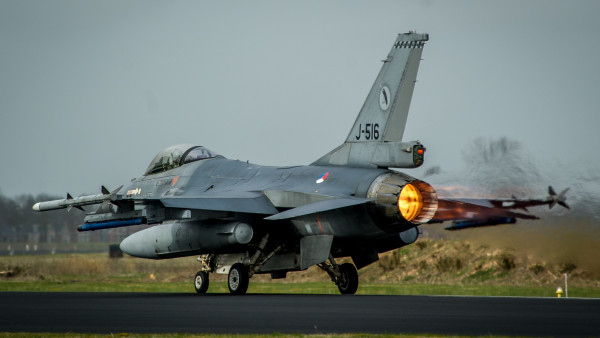 F-16 Fighting Falcon Fighter Aircraft