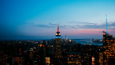 How is seen New York from Rockefeller Center