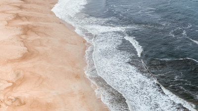 Super photo with Nazare beach, Portugal
