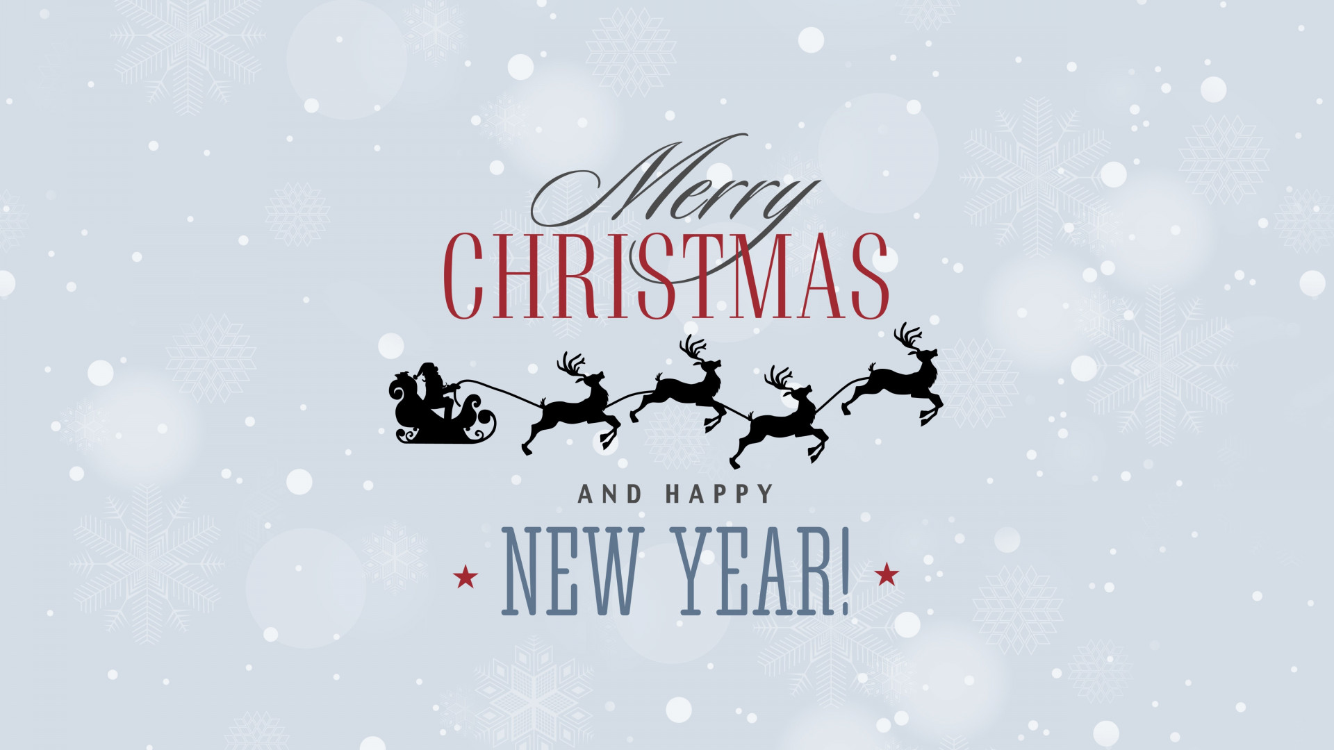 Download wallpaper: Merry Christmas and a Happy New Year
