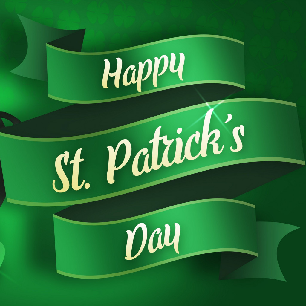 Happy Saint Patrick's Day wallpaper 1024x1024