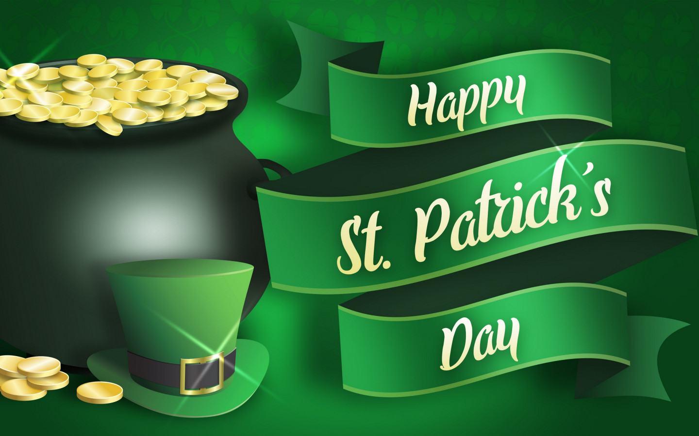 Happy Saint Patrick's Day wallpaper 1440x900