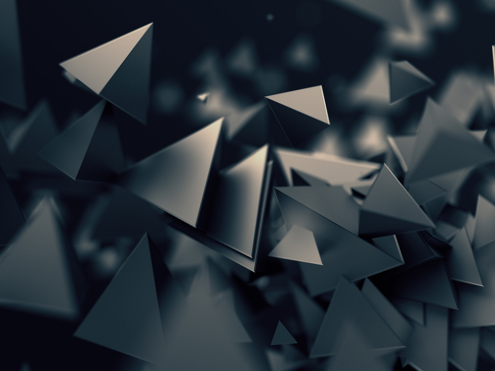 Triangular prisms | 1600x1200 wallpaper