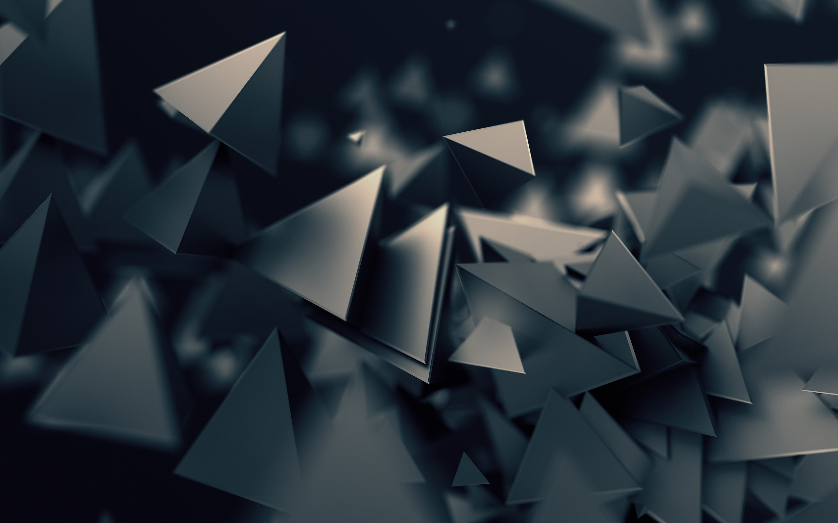 Triangular prisms | 2880x1800 wallpaper