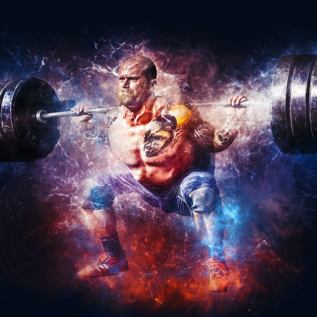 Bodybuilding wallpaper 1024x1024