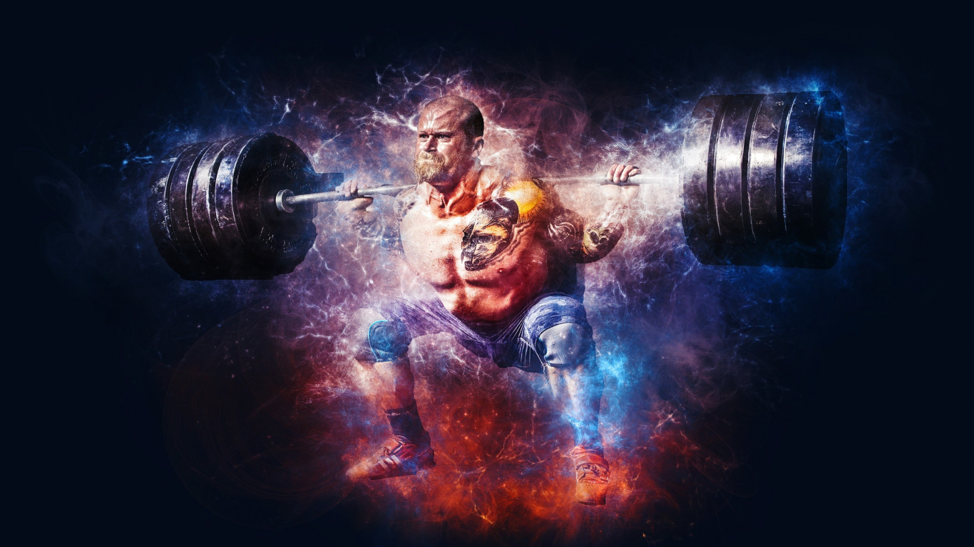 Bodybuilding wallpaper 1366x768