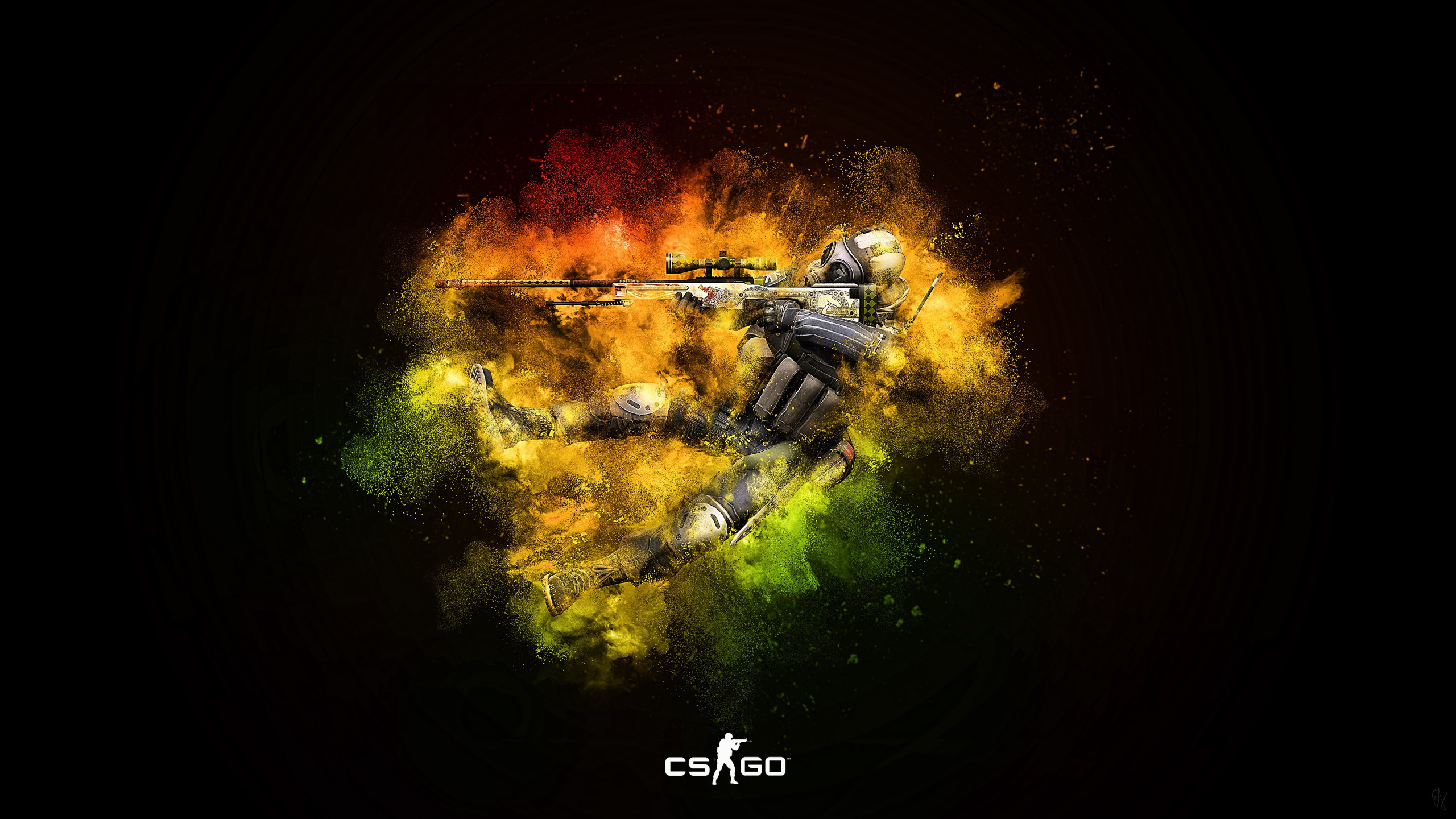 Counter Strike: Global Offensive wallpaper 2560x1440