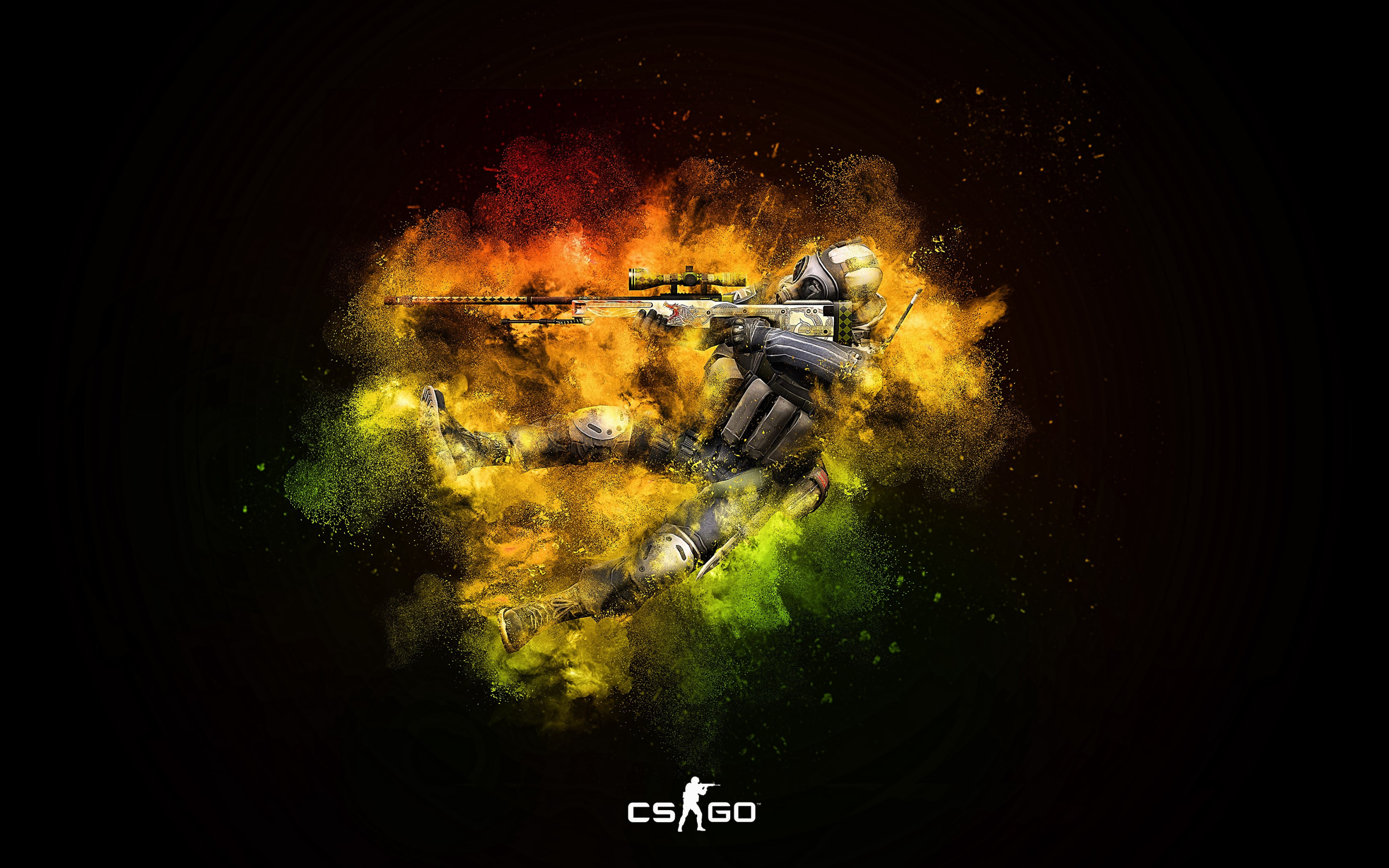 Counter Strike: Global Offensive wallpaper 2880x1800