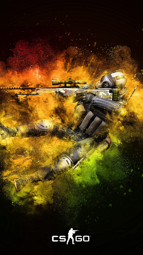 Counter Strike: Global Offensive wallpaper 480x854