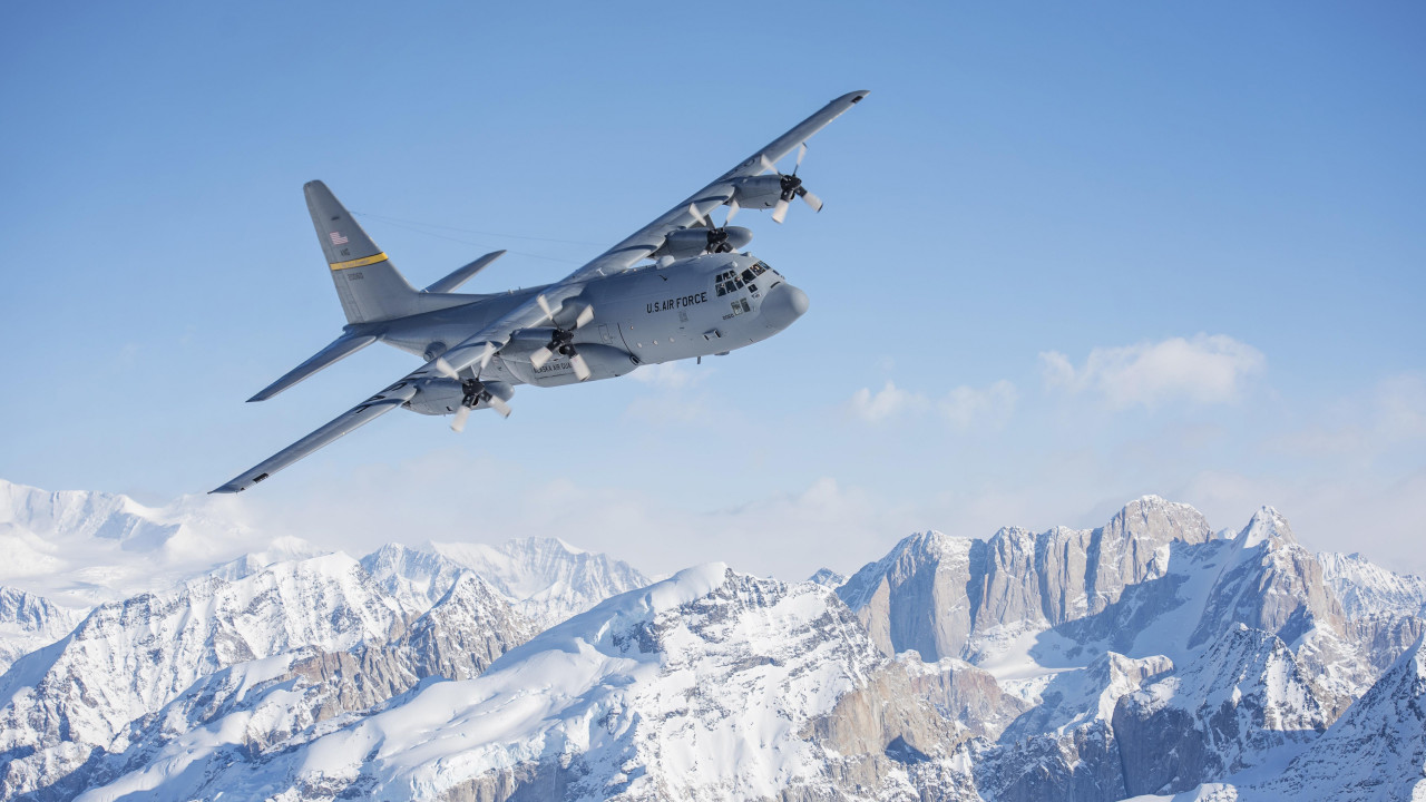 Hercules Aircraft wallpaper 1280x720