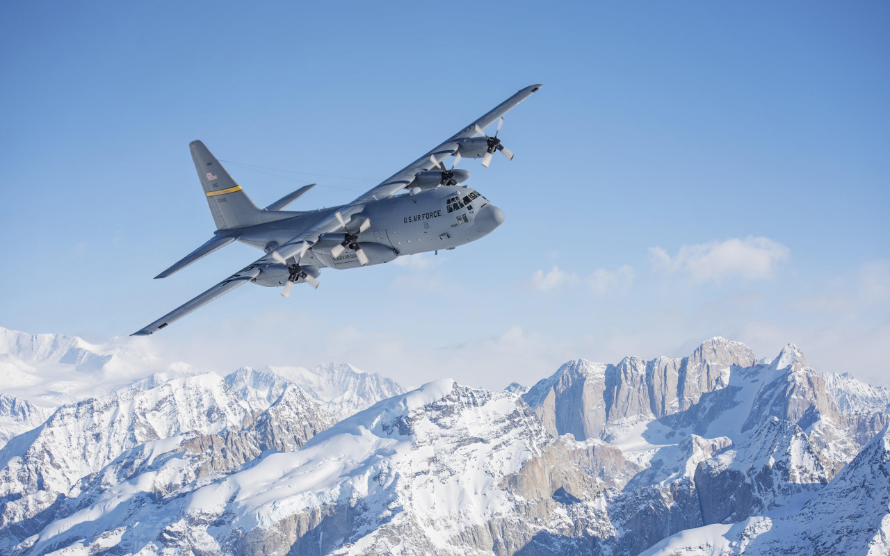 Hercules Aircraft wallpaper 1280x800