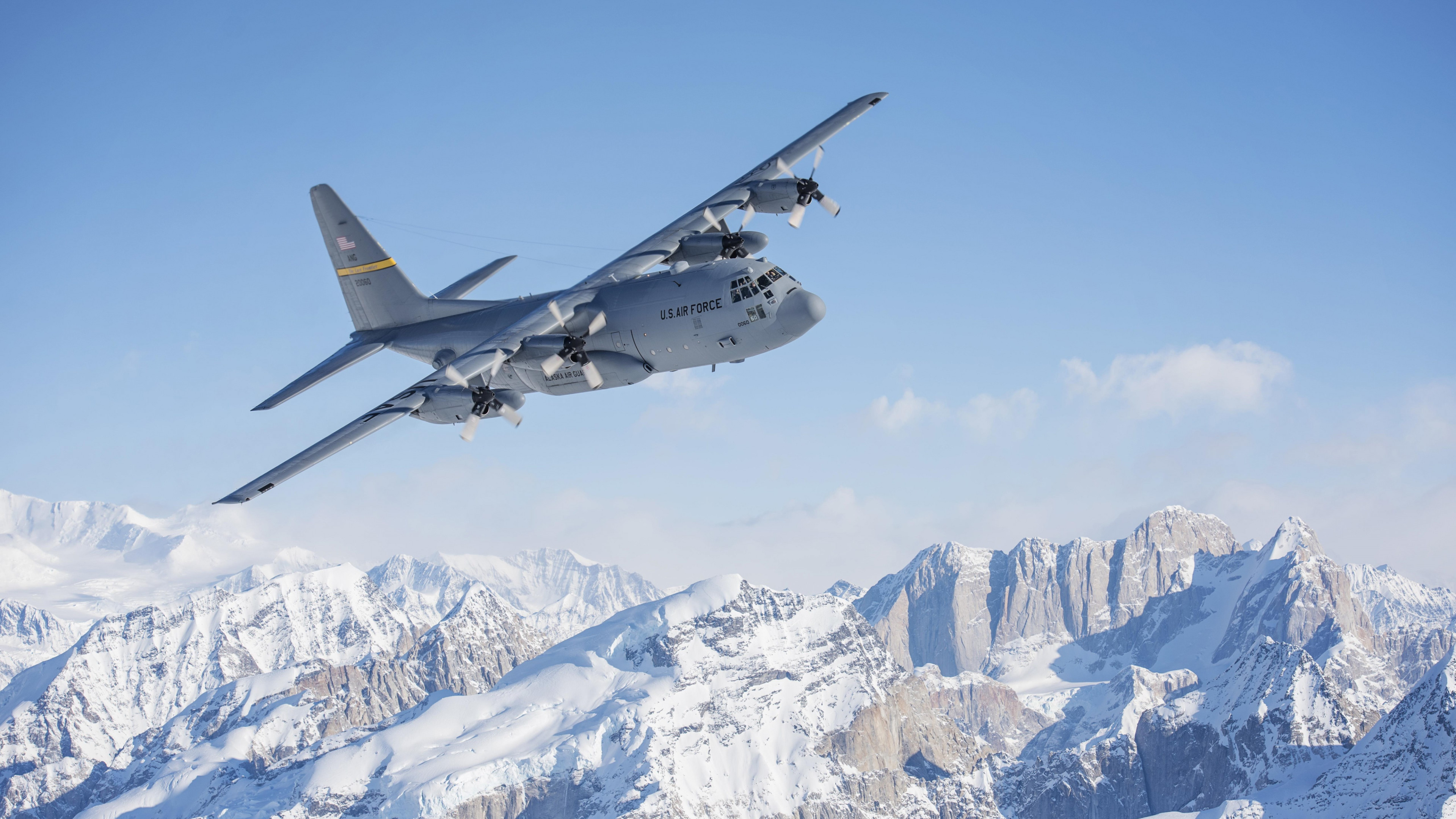 Hercules Aircraft wallpaper 3840x2160