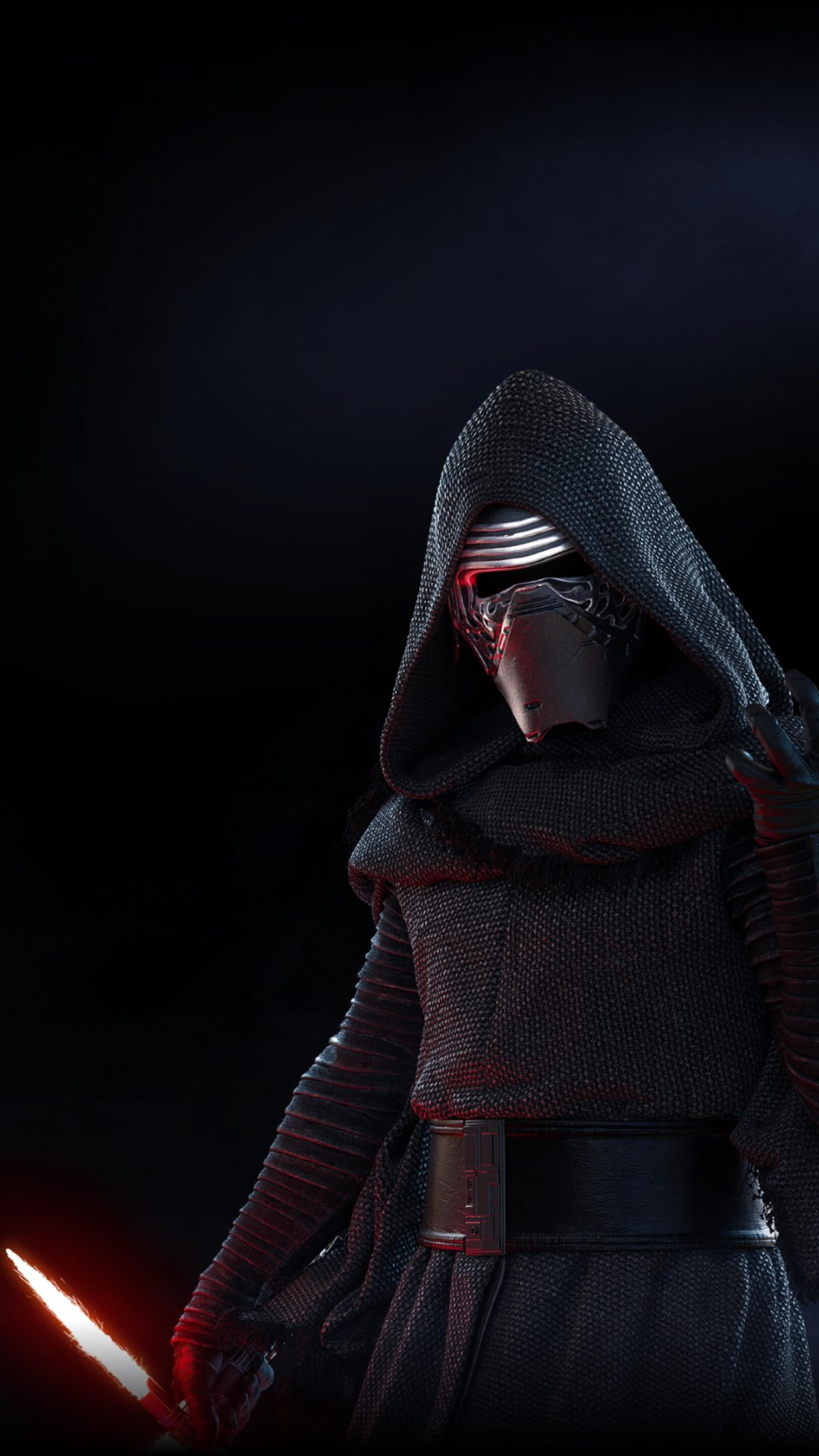 Kylo Ren from Star Wars Battlefront 2 wallpaper 1080x1920