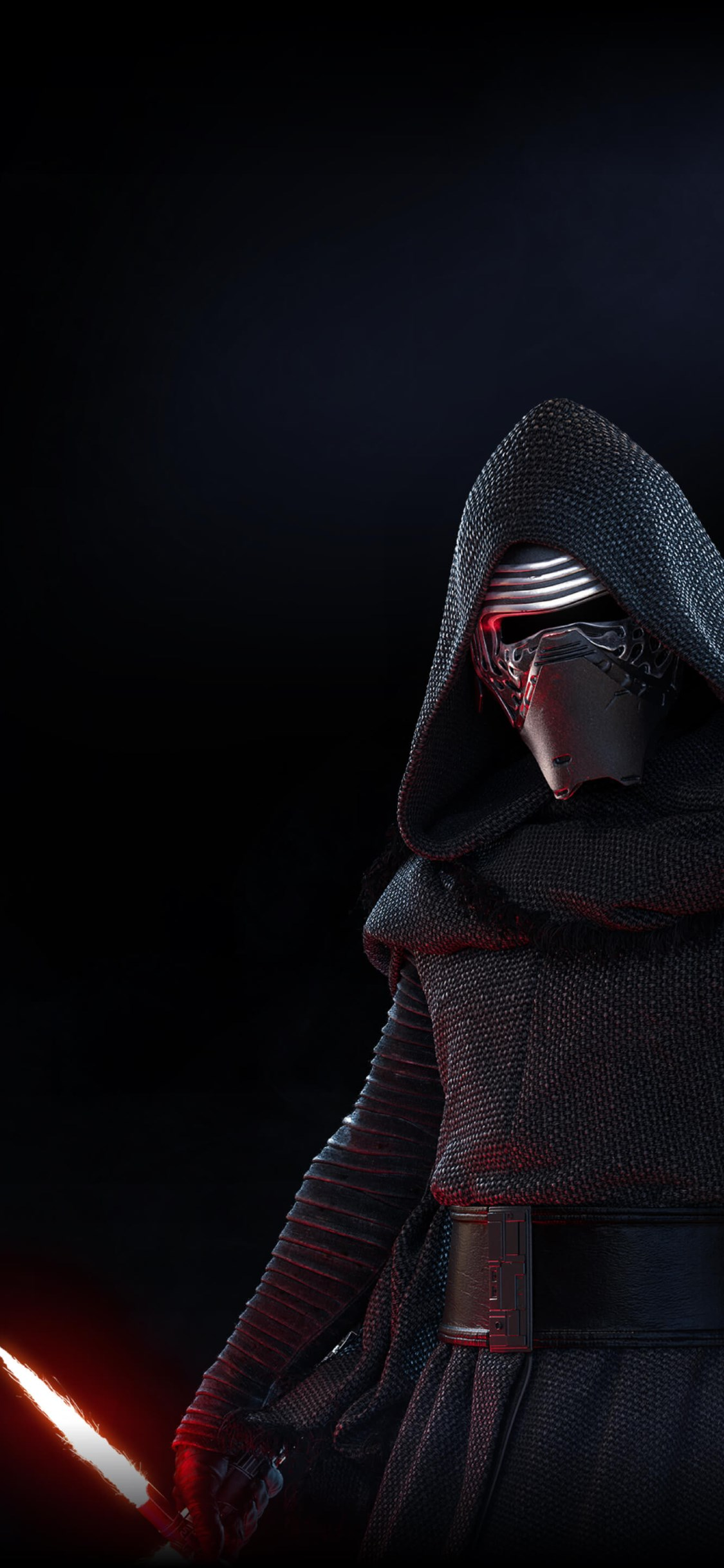 Kylo Ren from Star Wars Battlefront 2 wallpaper 1125x2436