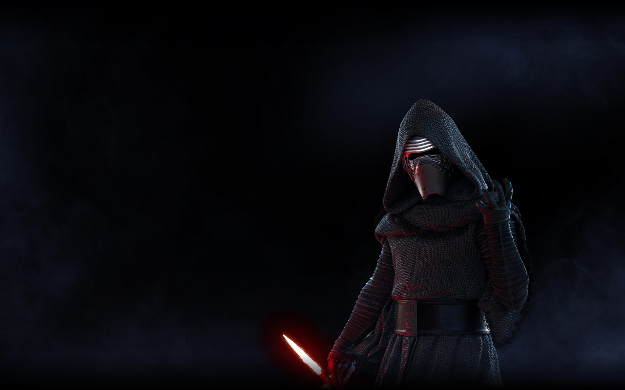 Kylo Ren from Star Wars Battlefront 2 wallpaper 1280x800